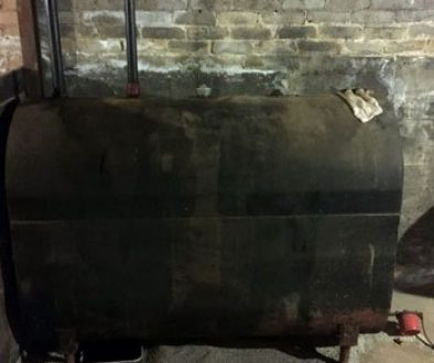 Removing Oil from Oil Tank
